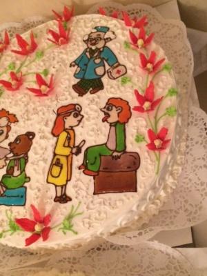 Праздничный торт! Проверено-вкусно!
